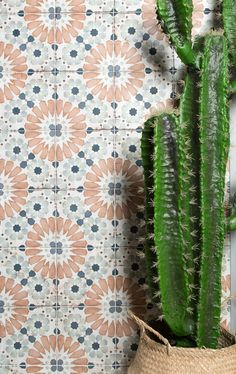 This alluring handcrafted collection offers 3x6 wall tile and 8x8 floor tile options.  #tile #tiles #walltile #floortile #subwaytile #patternedtile #interiors #flooring #homedesign #designinspiration