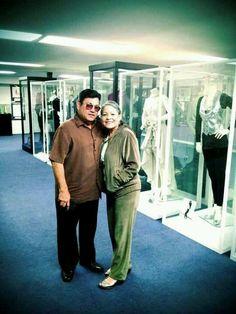 Selena's parents at the Selena Museum ... 5410 Leopard St, Corpus Christi, TX (361) 289-9013