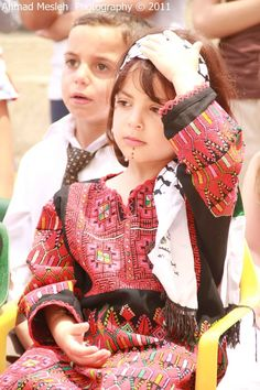 Beautiful Palestinian Girl.. How Adorable!
