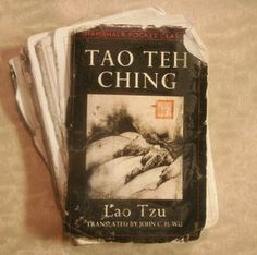 TAO TE CHING The Tao Te Ching, Dao De Jing or Daodejing is fundamental to the Philosophical Daoism and strongly influenced other schools, such as Legalism and Neo-Confucianism.