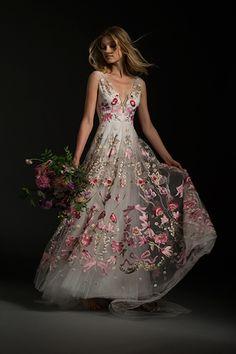 Wedding gown by Temperley Bridal (Style Bibi)