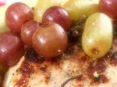 Get Pickled Grapes Recipe from Food Network Pickled Grapes Recipe, Pickled Fruit, Candied Fruit, Vegan Gluten Free, Vegan Vegetarian, Grape Recipes, Distilled White Vinegar, Al Fresco Dining, Food Network Recipes