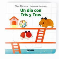 """""""Un día con Tris y Tras"""" es un divertido libro de Combel Editorial lleno de solapas, lengüetas, ventanas y otros mecanismos de papel para que los peques aprendan interactuando con sus personajes los hábitos de uno de los animales domésticos más populares: el hámster. Tenéis la reseña completa en el blog, ¡con vídeo y todo!  #libros #librosrecomendados #reseñas #books #literaturainfantil #cuentos #hamster #animales #unamamanovata"""