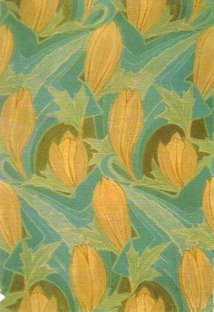 Textile design by Archibald Knox, 1900