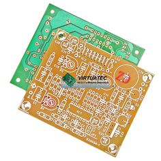 Placa p/ montar amplificador com TDA7374 (Grave e Agudo)