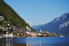 10 secretly stunning towns in Europe.  Hallstatt Austria