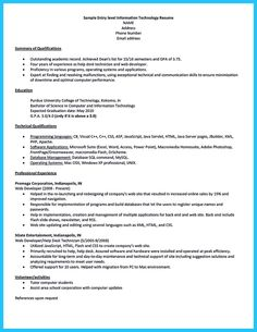 A Job Resume Magnificent Cool The Best And Impressive Dance Resume Examples Collections .
