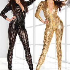 XXL plus-size lingerie Patent is hollow-out tights jumpsuits tights Package hip cat lady Have emotional appeal very beautiful #Affiliate