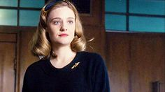 Romola Garai as Bel Rowley in The Hour