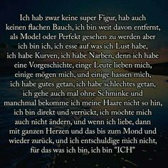 So bin ich Verse, Periodic Table, Thats Not My, Thoughts, Lady, True Sayings, So True, Pretty Words, Psychology
