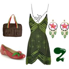 420 Inspired- but with pot leaf earrings..