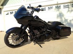 Blacked out 2013 Road Glide Custom - Harley Davidson Forums