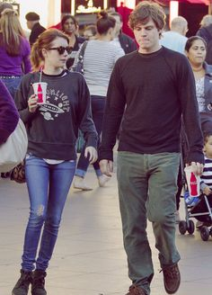 Emma Roberts and Even Peters