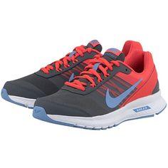 Nike Air Relentless 5 - Αθλητικά - ΓΚΡΙ/ΚΟΚΚΙΝΟ