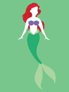 Ariel from The Little Mermaid Disney Princess Art Print