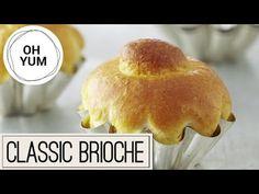 Classic Brioche : Bake with Anna Olson : The Home Channel Anna Olson, Bread Recipes, Baking Recipes, Chef Recipes, French Brioche, Asian Food Channel, Brioche Recipe, Baking Buns, Recipes