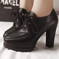 Outono inverno estilo britânico moda all jogo ankle boots saltos grossos sapatos botas plataforma martin mulheres botas de bico fino #8869 em Botas de Sapatos no AliExpress.com | Alibaba Group