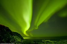 Natural beauty: The naturally occurring light show is thought to be at the peak of an 11 year solar cycle affording viewers the best possible conditions to catch them at their beautiful best