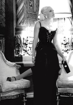 """ohyeahpop: """"Madonna photographed by Steven Meisel for Versace, HQ. """""""