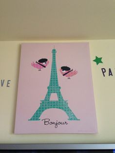 ideas incase you are thinking about a paris themed room