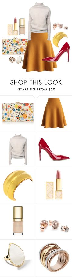 """""""Untitled #24"""" by jomail ❤ liked on Polyvore featuring Charlotte Olympia, Chicwish, Rick Owens, Valentino, Tory Burch, Dolce&Gabbana, GUESS, Ippolita and Michael Kors"""