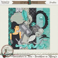 FREE Somewhere In Time - Breakfast at Tiffany's : Scraps N' Pieces   SNP FB Hop