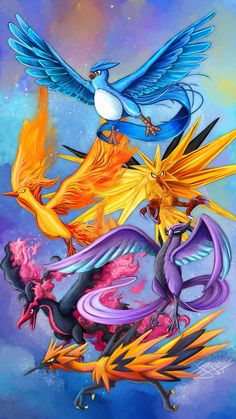 the bird of Kanto and Galar by jyru on DeviantArt