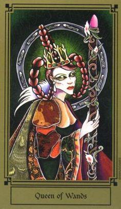 Fantastical Tarot ► Queen of Wands