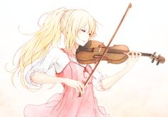 Pixiv Id 11825553, Shigatsu wa Kimi no Uso, Miyazono Kaori, Violin, Playing Instrument, Holding Instrument  Miyazono Kaori/#1854027 - Zerochan