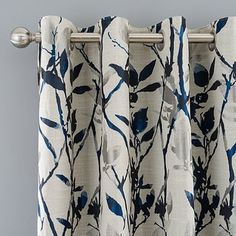 Fully lined for added fullness, our stunning Zen curtains feature a luxury Japanese inspired trailing leaf design, made with quality jacquard fabric for a styli. Curtains Dunelm, Drapes Curtains, Blue Eyelet Curtains, Zen, Curtain Headings, Curtain Accessories, Curtain Designs, Curtain Styles, Curtain Ideas