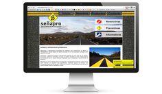 SEÑAPRO: Diseño Web para empresa dedicada al señalamiento vial.