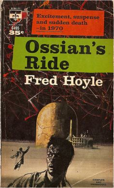 Ossian's Ride, Fred Hoyle (1961 edition), cover by Richard Powers