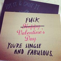 #fuck #valentine's day