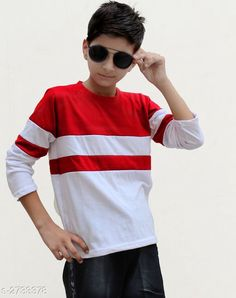 Tshirts & Polos Classy Kid's Boy's Cotton Blend T-Shirt Fabric: Cotton Blend Sleeves: Sleeves Are Included Size: Age Group (4 - 5 Years) - 24 in Age Group (6 - 7 Years) - 28 in Age Group (8 - 9 Years) - 30 in Age Group (10 - 11 Years) - 32 in Age Group (12 - 13 Years) - 34 in   Type: Stitched Description: It Has 1 Piece Of Kid's Boy's T-Shirt Pattern: Solid Country of Origin: India Sizes Available: 3-4 Years, 4-5 Years, 5-6 Years, 6-7 Years, 7-8 Years, 8-9 Years, 9-10 Years, 10-11 Years, 11-12 Years, 12-13 Years   Catalog Rating: ★4 (2649)  Catalog Name: Classy Kid's Boy's Cotton Blend T-Shirt's Vol 4 CatalogID_370464 C59-SC1173 Code: 282-2733378-456