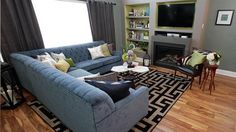 Sala de Estar  Property Brothers - Season 3 - James e David