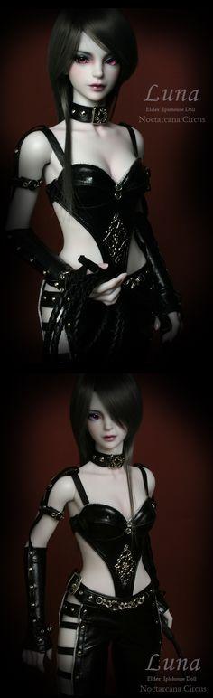 Luna - NoctarcanaCircus  Ball jointed Doll Total Shop :::Iplehouse.net::