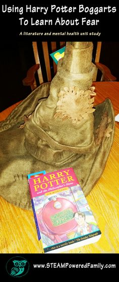Using Harry Potter and the Boggarts To Learn About Fear - A literature comprehension and mental health study. A fantastic way to use the fantastic Harry Potter books to help child talk and overcome their fears.