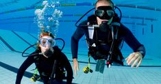 Open water scuba certification with online training, pool sessions, & four dives; First Dive Lesson Package introduces newcomers to diving Scuba Diving Classes, Scuba Diving Lessons, Learn To Scuba Dive, Scuba Certification, Diving School, Breathing Underwater, Dive Shop, Deerfield Beach, Diving Course