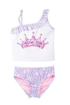 Muqgew Baby Girls Summer Clothes Mermaid Printing Bikini Swimwear For Children Swimsuit Bathing Suit Beachwear Attractive And Durable Luggage & Bags