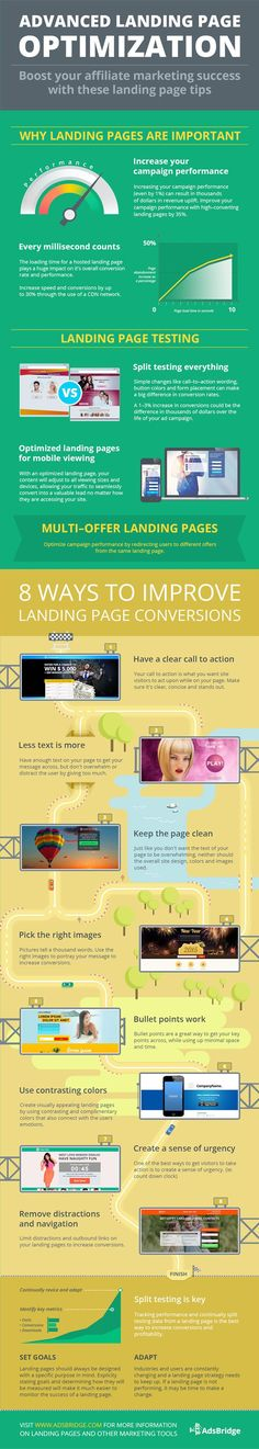 Landing page optimization is all about split testing and track improvements. Discover how in this landing page optimization guide.