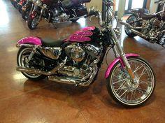 Pink motorcycle. Read Lady Biker fiction! www.TraceyCramerKelly.com