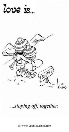 Love is… Comic Strip, Love Comic, Love Quotes, Love Pictures – Love is… Comi… - Spruch Love Is Comic, Comic Strip Love, Love Is Cartoon, Comic Strips, Love Me Quotes, Romantic Love Quotes, Skiing Quotes, Chicano Love, Comics Love
