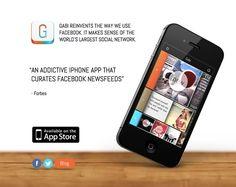 21 Inspiring iPhone App Website Designs: Wthr App; Gabi; invy; Meernotes; more...
