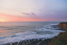 Sunset on the Sea Coast | #desktop #wallpapers #photography #nature #photos #beautiful #landscape #coast #ocean #sky #sunset #waves