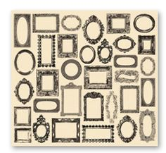 7 Gypsies - Collage Tissue Paper - Frames at Scrapbook.com
