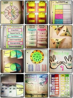 Interactive Notebooks: All 3rd Grade Standards Mega-Bundle....flippable, foldable fun for EVERY Common Core math standard for 3rd grade. $