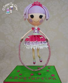 Lalaloopsy Double gravity tier cakes