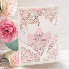 #Hochzeitseinladung Liebespaar rosa: https://www.meine-hochzeitsdeko.de/einladungskarte-hochzeit-liebespaar-rosa