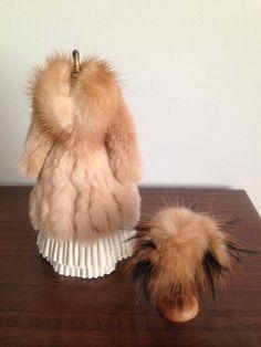 12th Scale Fur Coat by Eva Bauer.