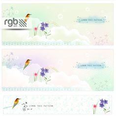 Bird Banner Vector - RGB.vn Plus - Free Stocks For Design & Multimedia